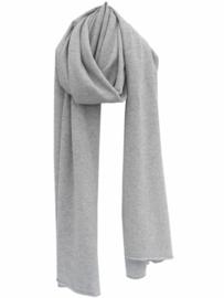 sjaal cosy casual van sjaal mania in pearl grey melee