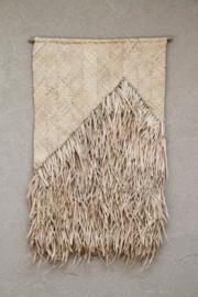 Wall hanging 'amua palm leaf', The Dharma Door