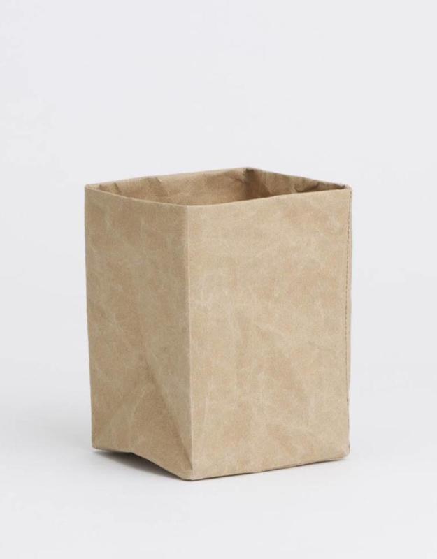 Paperbox, bruin, 17 x 17 x 35 cm hoog
