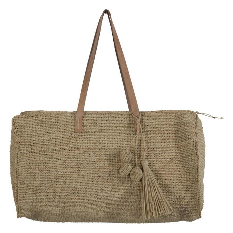 ivi bag in de kleur naturel van het merk Made in Mada