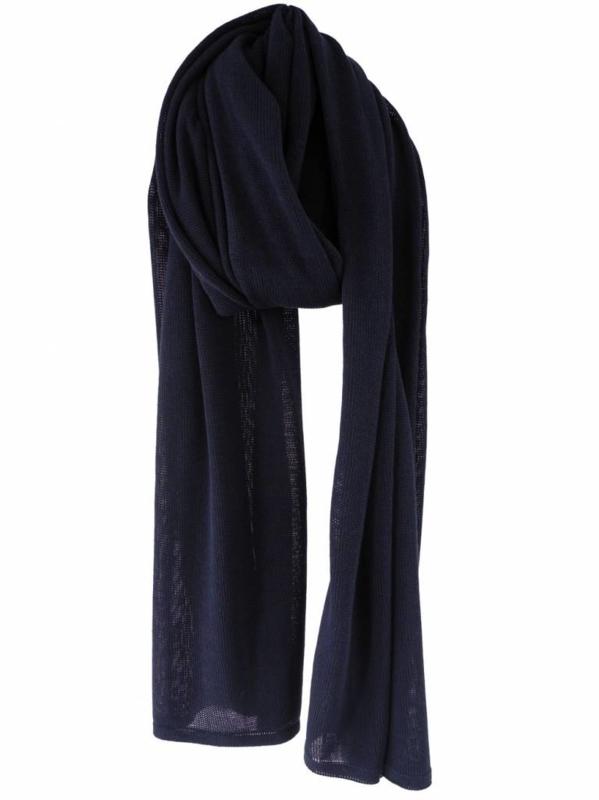 sjaal cosy chic short van Sjaal Mania in navy blue
