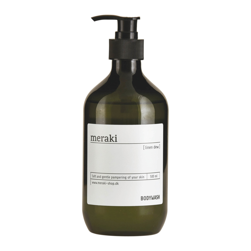 bodywash van Meraki in de geur linen dew, 500 ml