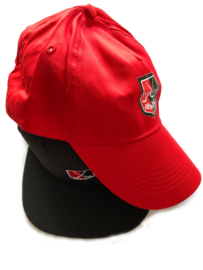 AH&BC Cap - Trucker cap - rood / zwart
