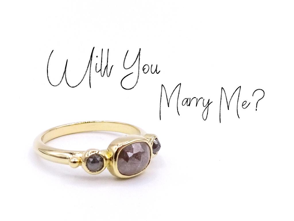 trouwen trouwring verlovingsring aanzoek