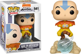 Pop! Animation: Avatar the Last Airbender - Aang on Airscooter (Special Edition)