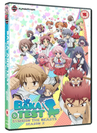 BAKA AND TEST DVD COMPLETE SECOND SEASON