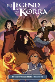 LEGEND OF KORRA 01 RUINS OF EMPIRE