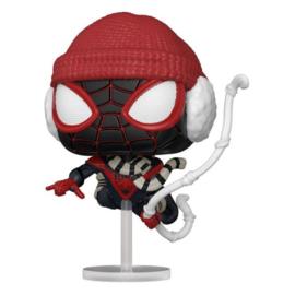 Pop! Games: Spiderman Miles Morales - Miles Morales (Winter Suit)