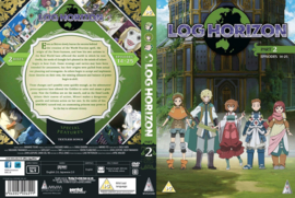 LOG HORIZON DVD SEASON ONE PART TWO