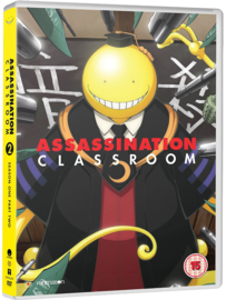 ASSASSINATION CLASSROOM DVD SEASON ONE PAT TWO