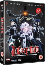 D GRAY MAN DVD COMPLETE SEASON ONE AND TWO