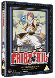 FAIRY TAIL DVD COLLECTION FOUR