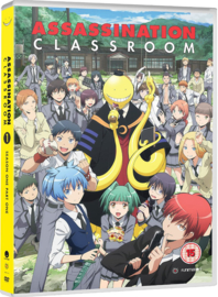 ASSASSINATION CLASSROOM DVD SEASON ONE PART ONE