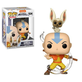 Pop! Animation: Avatar the Last Airbender - Aang with Momo