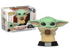 Pop! Movies: Star Wars the Mandalorian - The Child / Baby Yoda with Cup