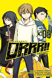 DURARARA YELLOW SCARVES 03