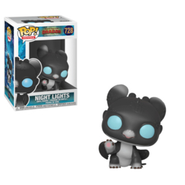 Pop! Movies: How To Train Your Dragon 3 - Night Lights (Black w/ Blue Eyes)