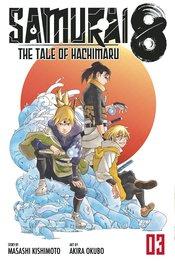 SAMURAI 8 TALE OF HACHIMARU 03