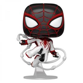 Pop! Games: Miles Morales - Spider-Man (T.R.A.C.K. Suit)