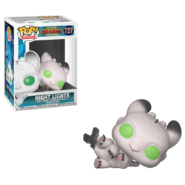 Pop! Movies: How To Train Your Dragon 3 - Night Lights (White)