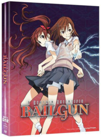 A CERTAIN SCIENTIFIC RAILGUN DVD SEASON ONE
