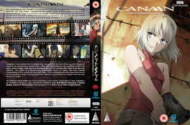 CANAAN DVD COMPLETE SERIES