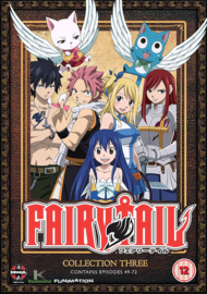FAIRY TAIL DVD COLLECTION THREE