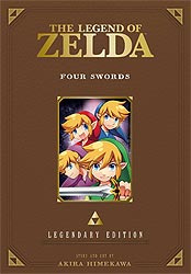 LEGEND OF ZELDA LEGENDARY ED 05 FOUR SWORDS