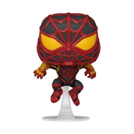 Pop! Games: Miles Morales - Spider-Man (S.T.R.I.K.E. Suit)