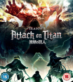 ATTACK ON TITAN DVD SEASON TWO