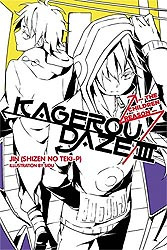 KAGEROU DAZE LIGHT NOVEL 03