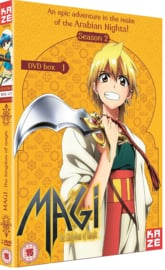 MAGI DVD SEASON TWO PART ONE