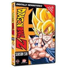 DRAGON BALL Z DVD SEASON SIX