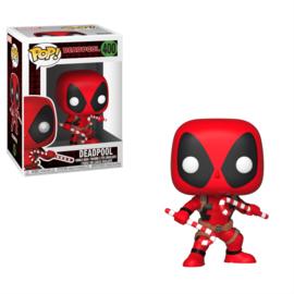 Pop! Marvel: Christmas Deadpool (#400)