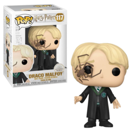 Pop! Movies: Harry Potter - Draco Malfoy w/ Whip Spider
