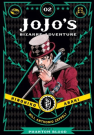 JOJOS BIZARRE ADV PHANTOM BLOOD 02 HC
