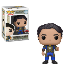 Pop! Games: Fallout - Vault Dweller w/ Box of Mentats (Male) (Exclusive)