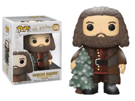 Pop! Movies: Harry Potter - Holiday Rubeus Hagrid 6""