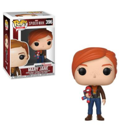 Pop! Games: Marvel - Spider-Man - Mary Jane (with Plush)