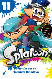 SPLATOON MANGA 11