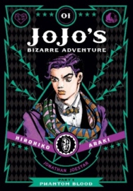 JOJOS BIZARRE ADV PHANTOM BLOOD 01 HC