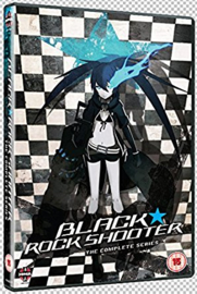 BLACK ROCK SHOOTER DVD COMPLETE SERIES