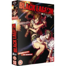 BLACK LAGOON DVD COMPLETE TV SERIES