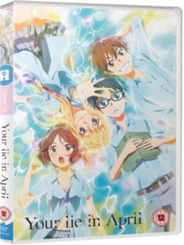 YOUR LIE IN APRIL DVD PART ONE
