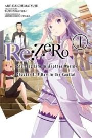 RE ZERO CHAPTER 01 A DAY IN THE CAPITAL 01