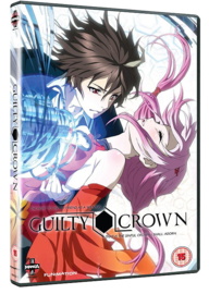 GUILTY CROWN DVD PART ONE