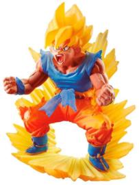 """Dragon Ball Z Dragonball Dracap 02 Memorial Super Saiyan Son Goku Figure 3"""""""