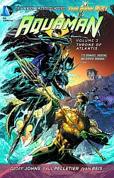 AQUAMAN 03 THRONE OF ATLANTIS (N52)