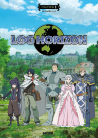 LOG HORIZON DVD SEASON ONE PART ONE