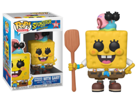 Pop! Movies: The SpongeBob Movie: Sponge on the Run - SpongeBob w/ Gary